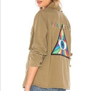 Daydreamer Pink Floyd Pyramid Field Jacket